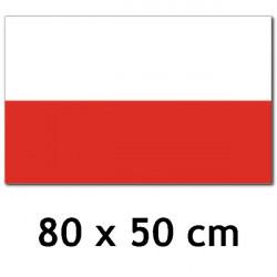 UW - FLAGA POLSKI -  80 x...
