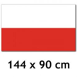 UW - FLAGA POLSKI - 144 x...