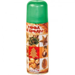 Farba spray 250 ml - Zielona
