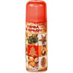 Farba spray 250 ml - Czerwona