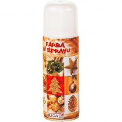 Farba spray 250 ml - Biała