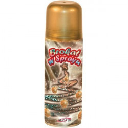 Brokat spray 250 ml - Złoty