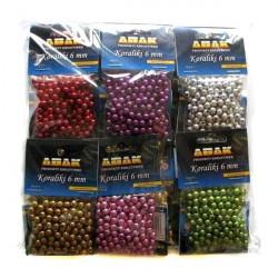 ABAK - Pakiet koraliki 6 mm...